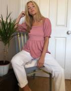 New Look - Ecrufarvede mom-jeans-Hvid